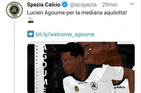 Agoumè è un nuovo giocatore dello Spezia