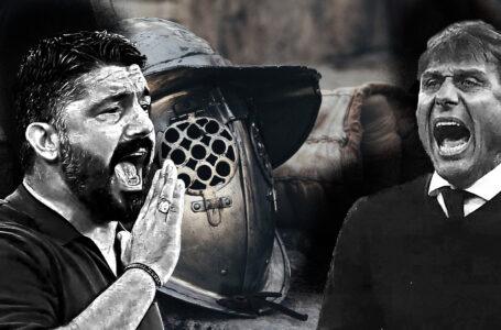 Conte e Gattuso; carisma allo stato puro