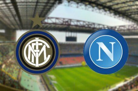 Inter-Napoli: le probabili formazioni