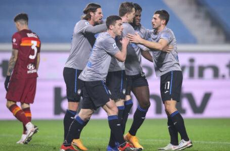 Serie A – Una super Atalanta travolge la Roma al Gewiss Stadium