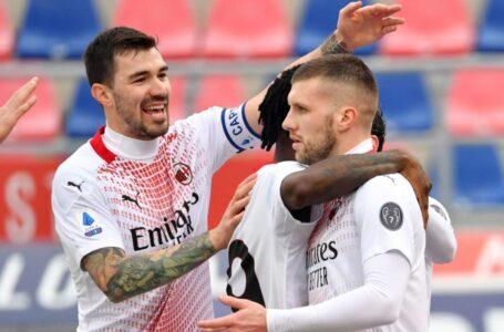"Serie A: il Milan sbanca il ""Dall'Ara"", Inter a -5"
