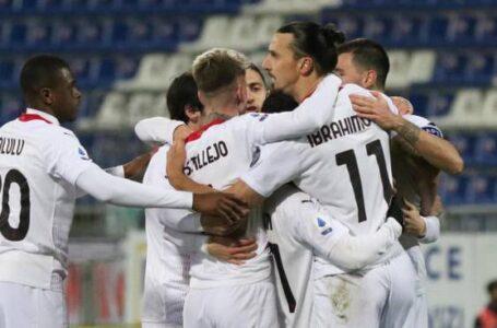 Il Milan vola sulle ali di Ibrahimovic e si riprende il primato
