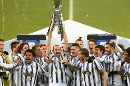 La Juventus conquista la Supercoppa italiana