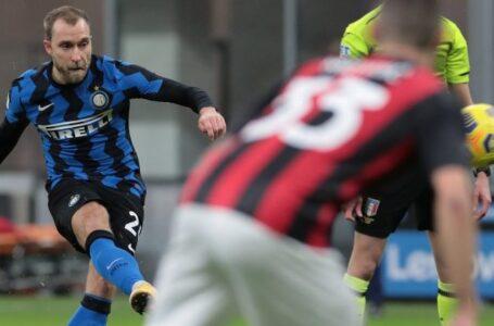 Inter-Lazio, FORMAZIONI UFFICIALI: Eriksen titolare, in campo i diffidati