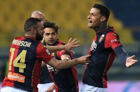 """Il Genoa espugna il """"Tardini"""" grazie ad un super Scamacca"""