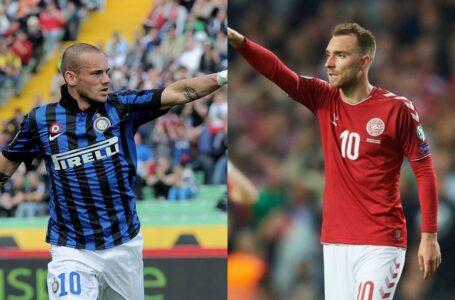 Eriksen-Sneijder, due calciatori diversi ma con un inizio nerazzurro simile!