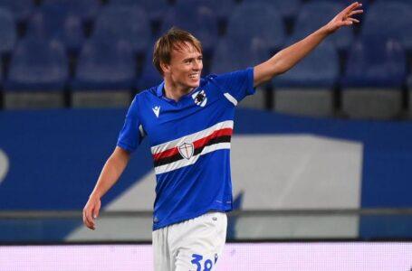 Inter-Juve: Damsgaard nel mirino dei due club. La Samp lo blinda fino al 2022