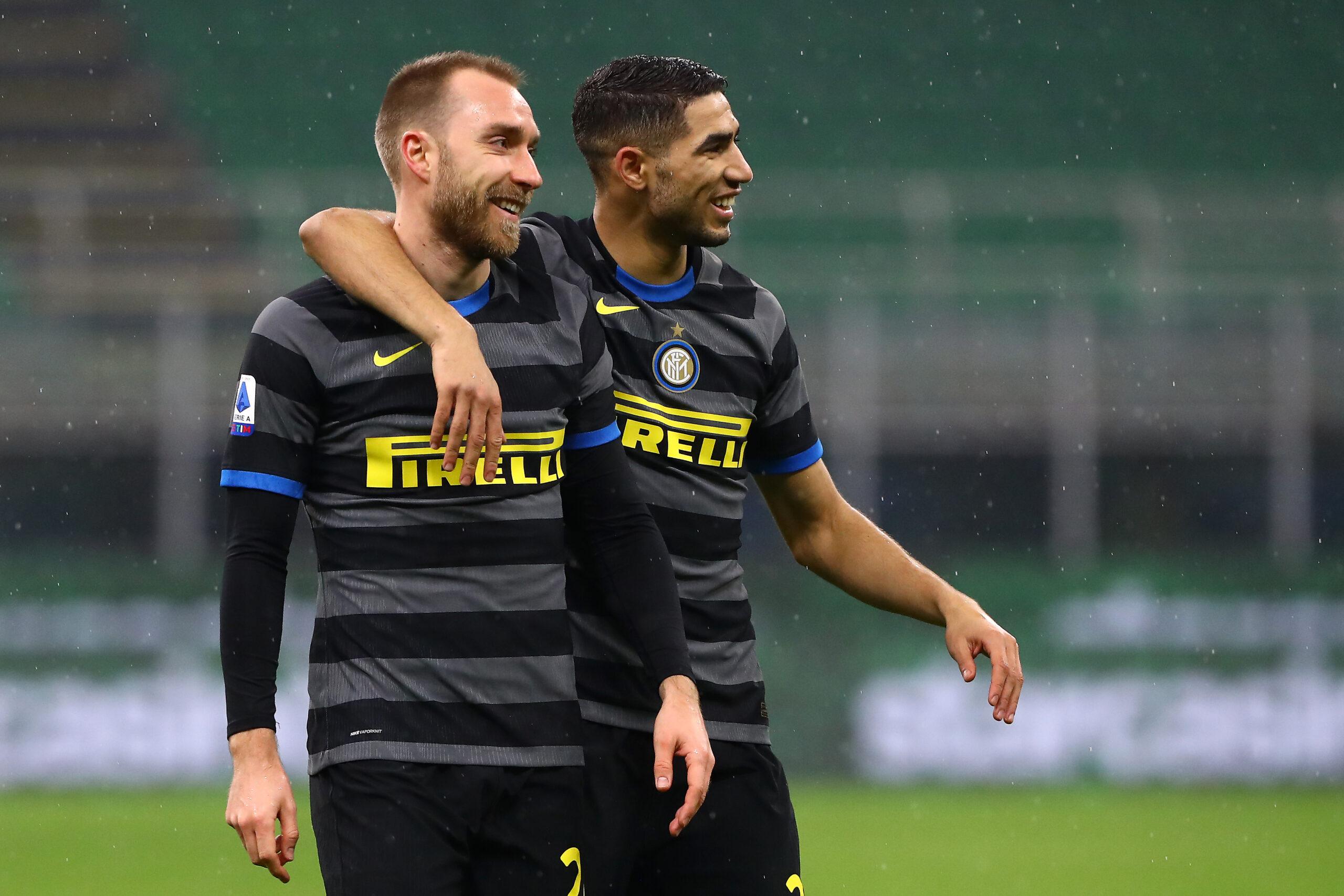 Inter, addio musi lunghi oggi sorridono tutti: da Conte fino a Eriksen