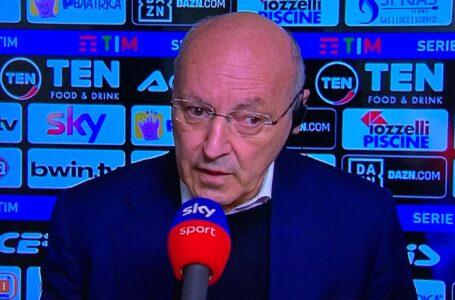 """Marotta: """"Inzaghi ha già capito le differenza tra Inter e Lazio"""""""