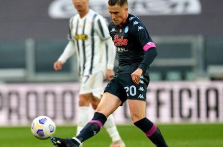 Napoli, problemi per Zielinski: a rischio la sua presenza contro l'Inter