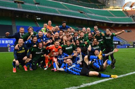 [FOTO]-Inter-Samp: la festa dei giocatori neroazzurri