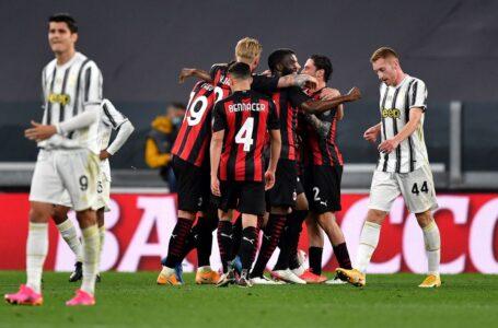 Serie A, risultati: il Milan asfalta la Juventus a Torino