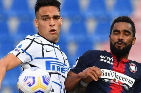 Crotone-Inter 0-2: Eriksen apre, Hakimi chiude. Ora lo Scudetto è al 99%