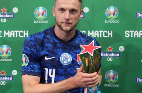 Europei, la rete di Skriniar gela la Polonia: Slovacchia in testa al girone