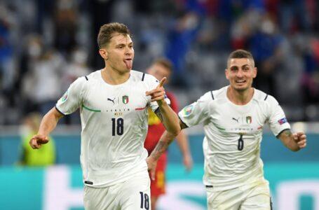 Euro2020: Italia Belgio 2-1, azzurri in semifinale