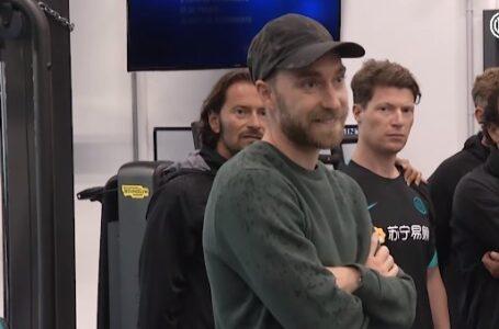 Video – L'emozionante ritorno di Christian Eriksen ad Appiano