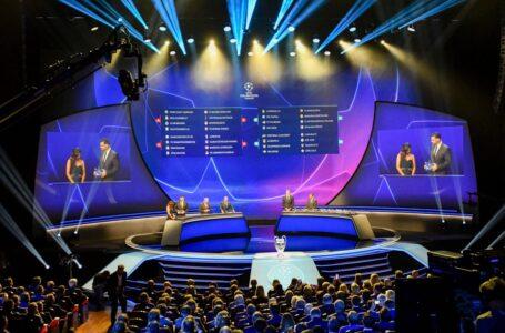 Champions League: le 4 fasce in vista del sorteggio
