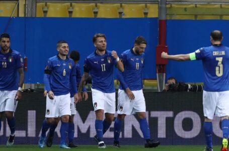 """Le formazioni ufficiali di Italia-Bulgaria:""""Tridente confermato, Barella titolare"""""""