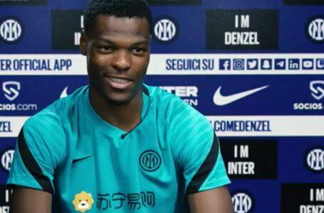 """Dumfries: """"Che felicità il mio esordio all'Inter, non lo dimenticherò mai"""""""