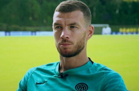 """Dzeko: """"L'Inter mi ha voluto tanto, qui non per sostituire Lukaku"""""""