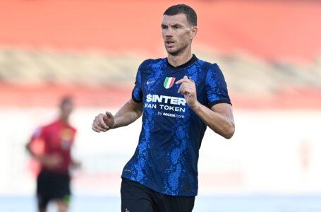 """Inter-Real Madrid: uno Dzeko tuttocampista che ha """"spuntato"""" l'Inter"""