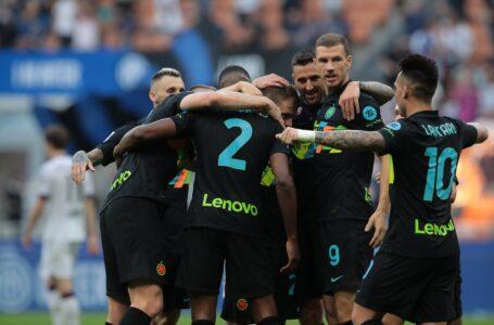Inter forza 6: Bologna strapazzato e primato in classifica