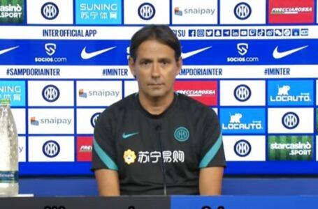 """Inzaghi: """"Testa solo alla Samp. Bastoni out, sudamericani da valutare"""""""