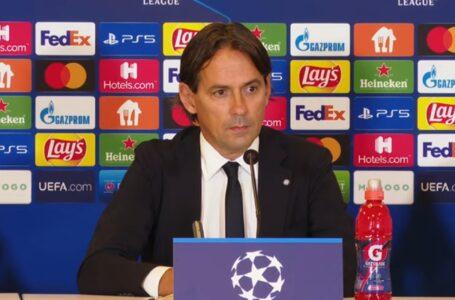 """Inzaghi: """"Dobbiamo trovare equilibrio. Domani gara molto importante"""""""
