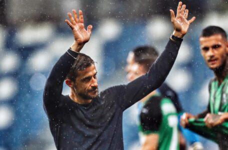 """Domani Sassuolo-Inter, Dionisi: """"L'obiettivo sarà crederci fino alla fine """""""